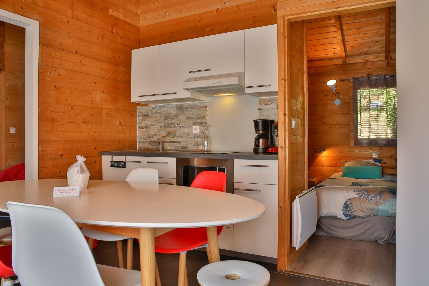Les Chalets de la GazonneLocation de vacancesStudio END_22